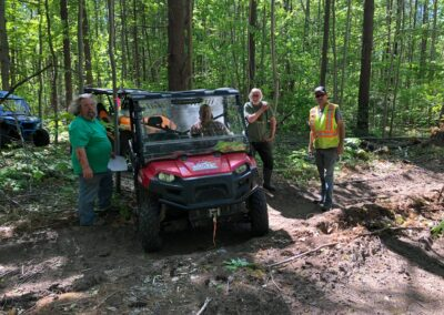 Clearing the Trails